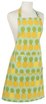 Now Designs Basic Cotton Kitchen Chef's Apron, Pineapples (Pineapples Print) - $26.73