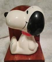 "Vintage 1966 5 3/8"" Ceramic Snoopy Figure - $24.70"
