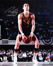 Rick Barry Signed Golden State Warriors Under Hand Free Throw 16x20 Phot... - $80.00