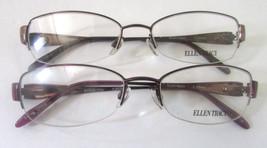Ellen Tracy Women's Eyeglass Frames Barcelona For Rx 53-17-135 Mm Set Of 2 - $24.36