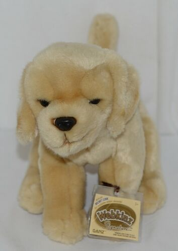 GANZ Brand Webkinz Signature Collection WKS1082 Plush Labrador Retriever