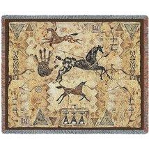 Tlalocs Tribe Throw - 70 x 54 Blanket/Throw - $49.95