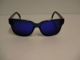 Mens Diesel Sunglasses New DL0074 83X Crystal Blue Mirror 55mm With Case - $69.25