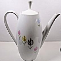 Mid-Century Schumann Arzberg Floral Designed Coffee Pot - $20.57