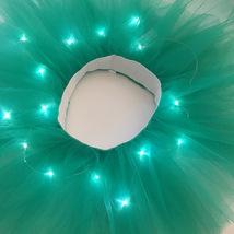 WOMEN MINI TUTU Skirt with Lights High Waisted Many Color Mini Petticoat Costume image 15
