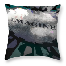 Imagine, Strawberry Fields, Throw Pillow, seat ... - $41.99 - $69.99