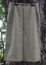 Vintage Talbott Taille 16 Gris Laine Jupe - $38.83