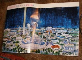 1964 New York World's Fair Year To Go Book Employee Publication Rare - $26.99