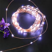 (100 LED white)10 LED Battery Operated Heart Shaped Christmas String Lig... - $20.00