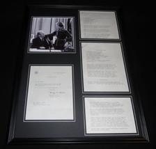 Betty Ford 18x24 Framed ORIGINAL 1974 Recipes & Photo Display - $148.49