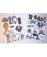 President BARACK OBAMA Magnets Political Humor Novelty Dress-Up Democrat... - $25.69
