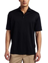 Nike Men's Stretch UV Tech Solid Golf Polo, Black, Medium - $34.65