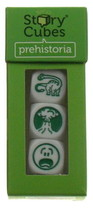 Gamewright Rorys Story Cubes Prehistoria Green Set 3 Cubes 18 Images Din... - $7.99
