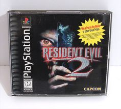 Resident Evil 2: (Sony PlayStation 1, 1998) PS1 Black Label Mint Discs! - $34.95