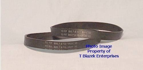 (Ship from USA) Dirt Devil 2 Pack Vacuum Cleaner Belts Type 10