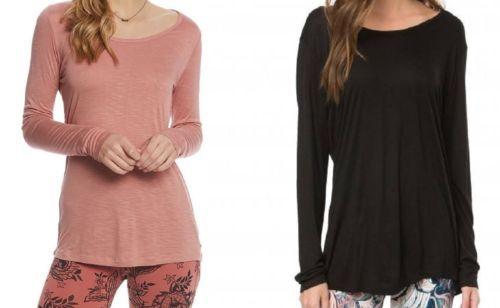 O'Neill 365 Junior Women's Shirt ASTRID Long Sleeve Crisscross Back Strap Tee