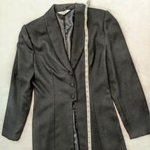 Lynn Kohls New York Black Wool Blazer 3 button Size 8 D33 - $49.50