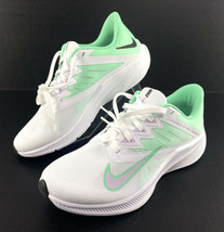 Nike Quest 3 CD0232 111 Athletic Running Shoes White Lilac Green Womens ... - $55.34