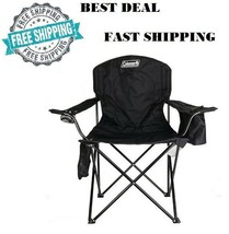 Heavy Duty Chair Sturdy Oversized Portable Folding Camping Lawn Patio De... - $29.17