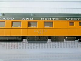 Micro-Trains # 14600430 Chicago & North Western 80' Heavyweight Diner N-Scale image 4