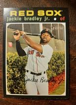 x1 2020 Topps Heritage Base #249 Jackie Bradley Jr. Boston Red Sox Card Mint  - $2.50