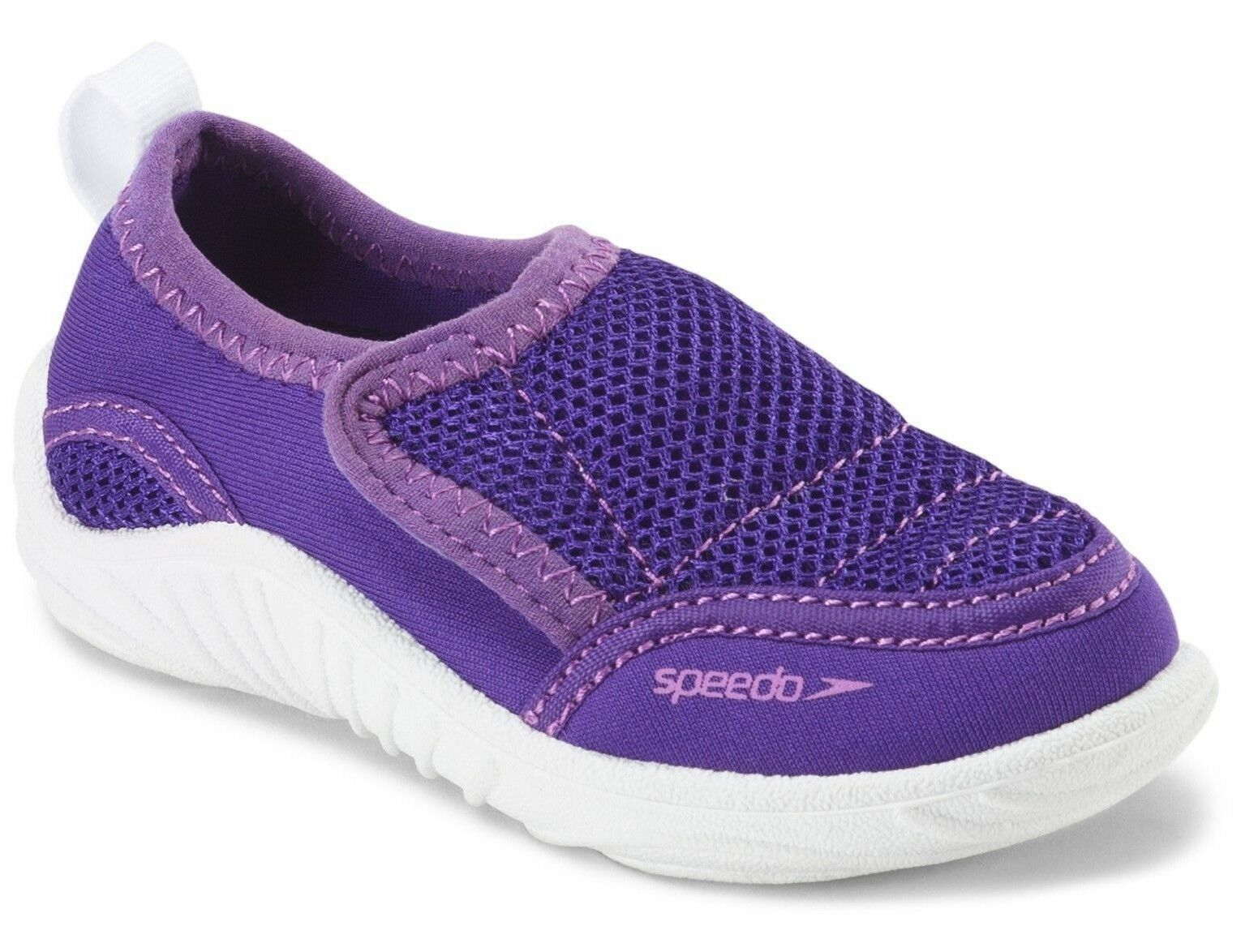 NEW Speedo Kids Toddler Boys Girls Purple Surfwalker Beach Pool Water Shoes NWT