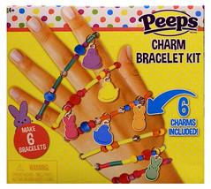 FASHION ANGELS Make 6 PEEPS CHARM BRACELET KIT Chicks+Bunnies+Beads+Tube... - $8.89