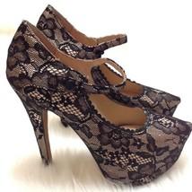 Betsey Johnson Ellaa Mary Jane Stiletto Platform Pump Heels Shoes Womens... - $41.57