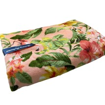 Tommy Bahamas HIBISCUS GROVE Bath Towel Flamingo Tropical NEW - $24.95
