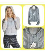 New Fabletics Donovan Windbreaker Ruched Zip Hoodie Thin Jacket Women's ... - $59.99