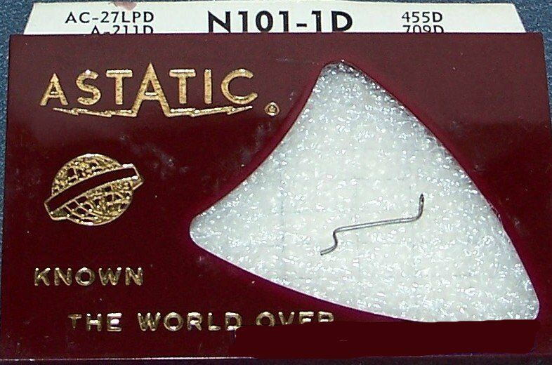 Astatic N101-1d PHONOGRAPH RECORD PLAYER NEEDLE STYLUS for ACOS SE2 SE-2 HGP-37