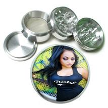 Chola Pin Up Girls D5 63mm Aluminum Kitchen Grinder 4 Piece Herbs & Spices - $13.81