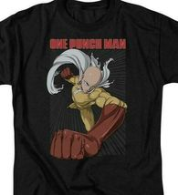 Japanese superhero Saitama One-Punch Man Manga webcomic graphic t-shirt OPM105 image 3
