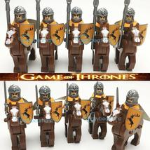 Game of Thrones House Baratheon Soldiers Cavalry Riders Army Custom Minifigures - $23.99