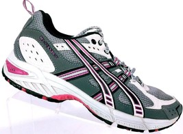 Asics Women's Gel Enduro 5 Athletic Running Shoes Gray Magenta Size 8.5 M - €31,81 EUR