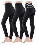 Moon Wood Opaque Leggings for Women High Waist Soft Workout 4-Way Stretc... - $21.99