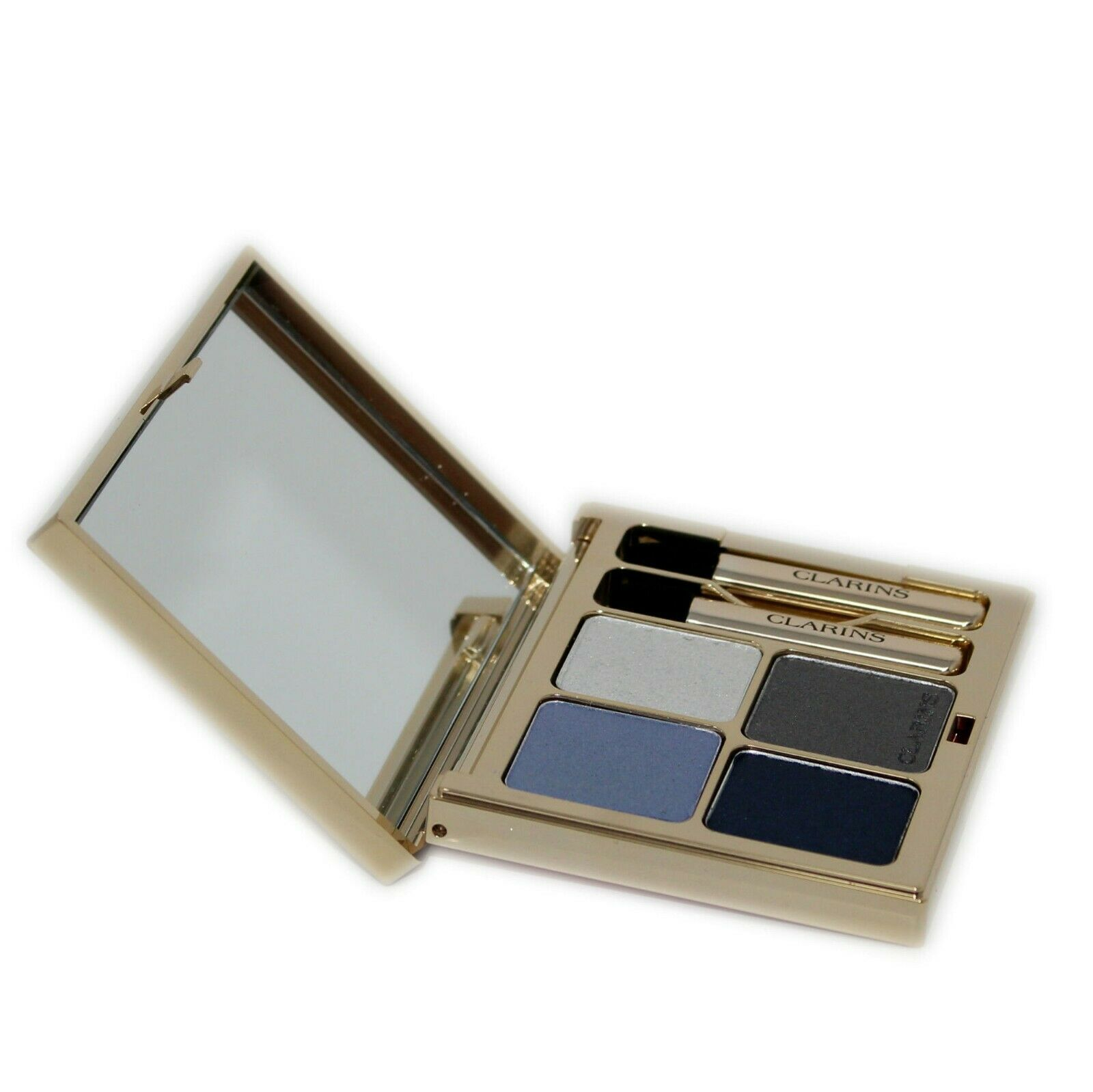 Primary image for CLARINS OMBRE MINERALE 4 COULEURS EYE QUARTET MINERAL PALETTE 5.8G #04-INDIGO