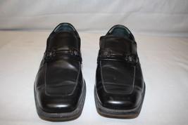 """ALFANI Black """"ACE"""" Loafer Shoes W/Buckle Decor, Mens Size 11M-B16 - $25.00"""
