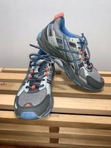 ASICS Womens Gray/Blue Gel-Venture 5 Athletic Sneakers Shoes T5N8N Size 7 - $29.99
