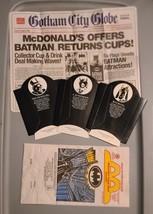Vintage 1992 McDonalds Batman Returns - Tray Matte Fry Containers Happy ... - $24.99