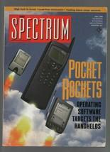 IEEE Spectrum Magazine - May 1998 - Pocket Rockets, Israel Tech, - Combi... - $0.97