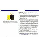 New SYM 101.3 Battle Lantern, Bulkhead-mount Conversion Kit - $42.74