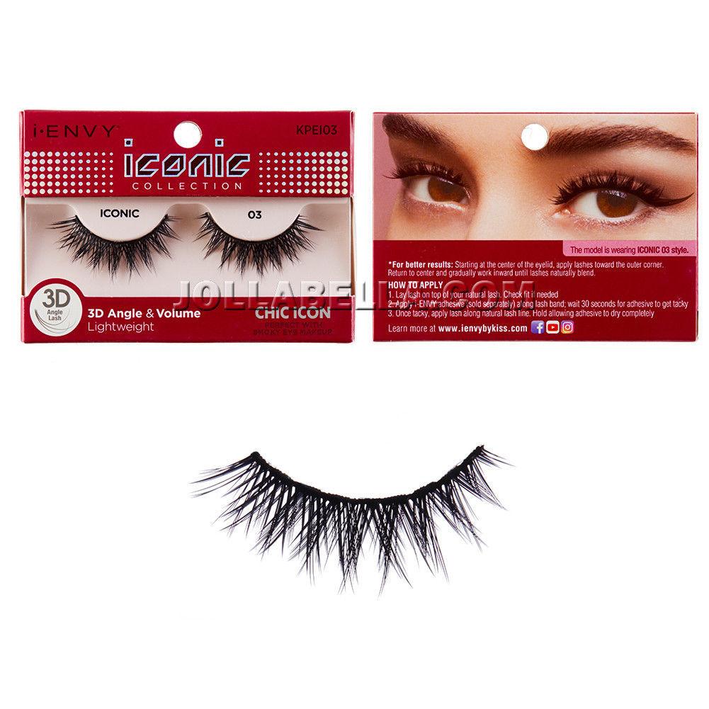 b832b4df111 i Envy iconic 3D Angle & Volume False Eyelashes w/ Smoky Eye Makeup - Chic