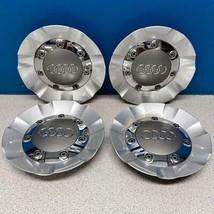 2007-2013 Audi Q7 # 58805 Wheel / Rim Center Caps OEM # 4L0601165 USED SET/4 - $149.99