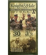Knight And Hale Ultimate Whitetail X Year Of The Big Bucks VHS NEW RARE ... - $183.91