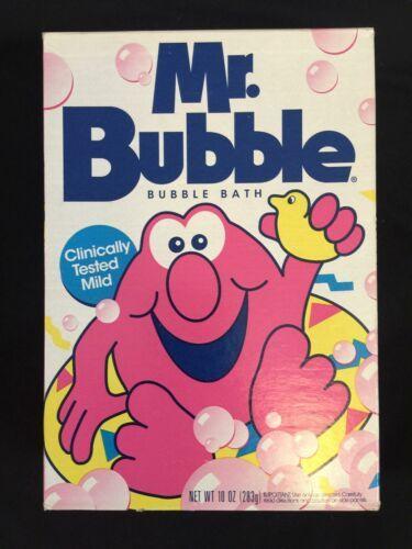 Vintage Mr Bubble Bath 1990s 90s 10oz Box Sealed New Old Stock NOS