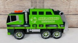 Toy State Road Rippers Motor Island Recycling Garbage Truck Motion Sound... - $19.39