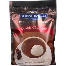 Ghirardelli Hot Cocoa - Premium - Double Chocolate - 10.5 oz - case of 6 - $42.99