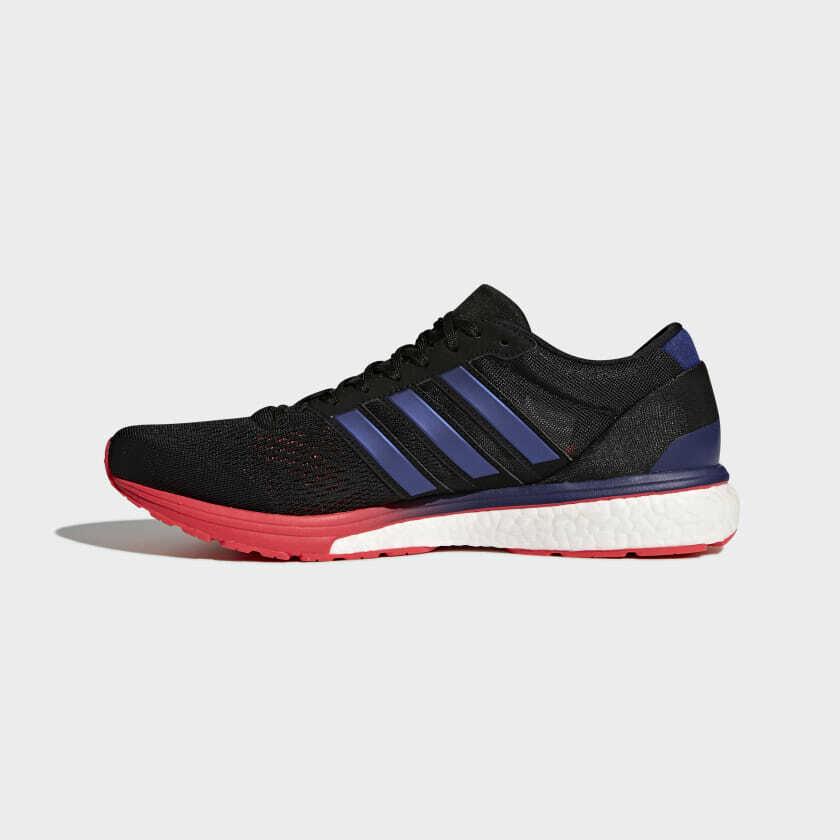 Adidas Adizero Boston 6 Herren Größe 8.5 BB6413 Marathon Neu Bequem Laufen image 4