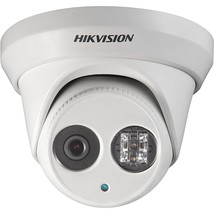 HIKVISION 4 Megapixel EXIR PoE Turret IP Outdoor Surveillance Camera, DS... - $149.17